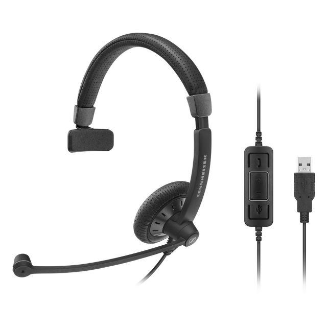 SENNHEISER(ゼンハイザー) SC 40 USB MS / 506500 USBヘッドセット(片耳)(USB一体型) USB接続ケーブル