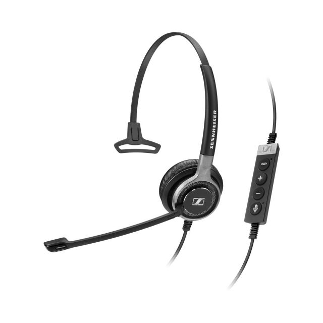 SENNHEISER(ゼンハイザー) SC 630 USB ML / 504554 USBヘッドセット(片耳)(USB一体型) USB接続ケーブル