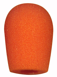エンタープライズヘッドセット(マイクカバー オレンジ 5個入り EN-MC-OR)