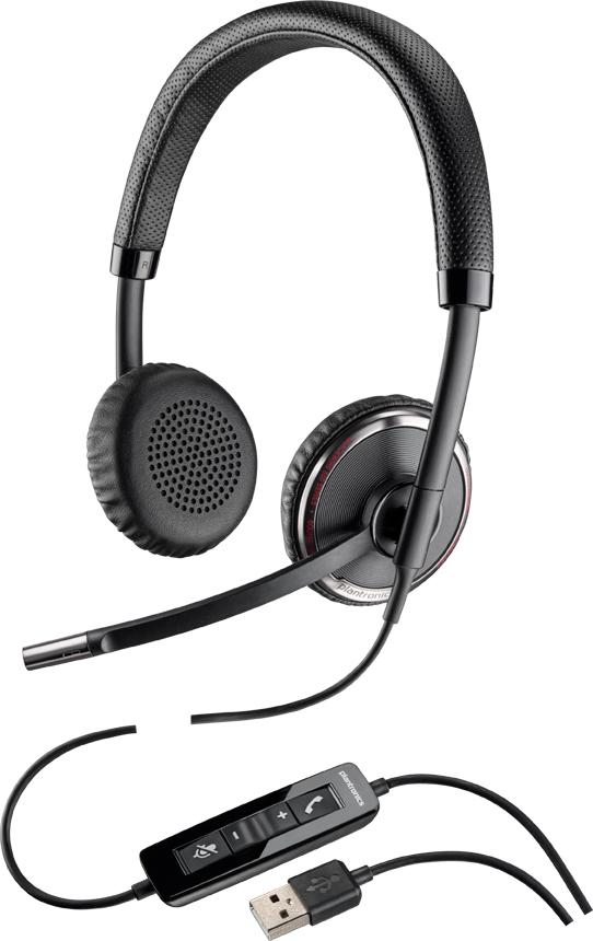 プラントロニクス USBヘッドセット Blackwire C520 (88861-01)