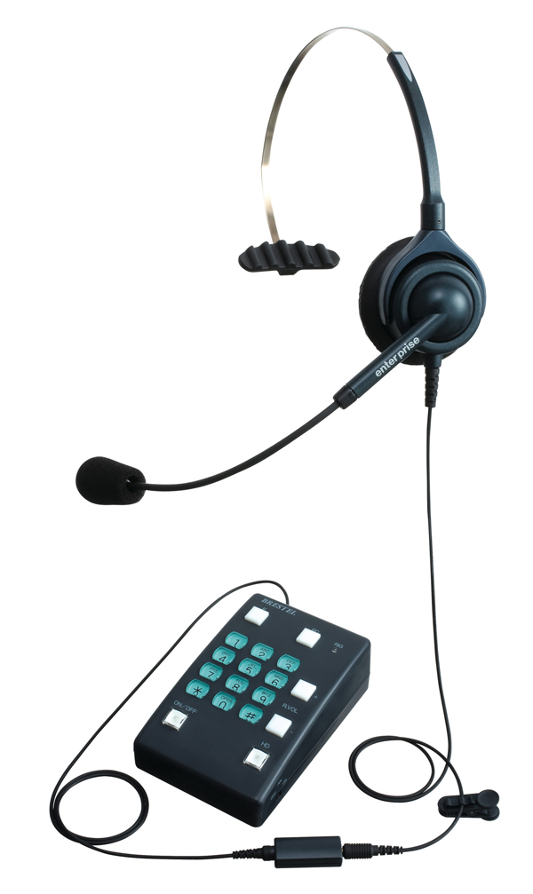エンタープライズヘッドセット型電話機 片耳タイプ ブレステル BRESTEL