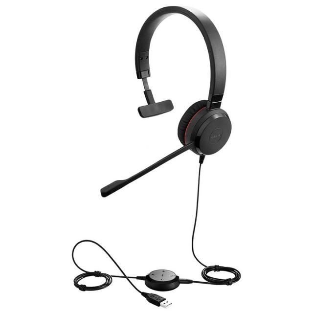 Jabra製 USBヘッドセット Jabra EVOLVE 30 II UC Mono(片耳タイプ)(5393-829-309)