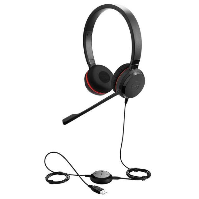 Jabra製 USBヘッドセット Jabra EVOLVE 30 II UC Stereo(両耳タイプ)(5399-829-309)