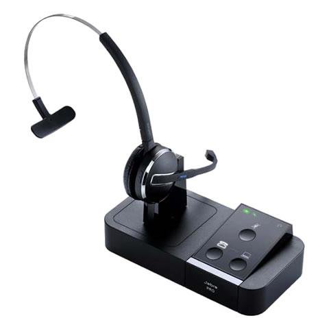 Jabra製ワイヤレスヘッドセットシステム 電話機・PC ソフトフォン用 ヘッドセット Jabra PRO 9450(9450-25-707-106)