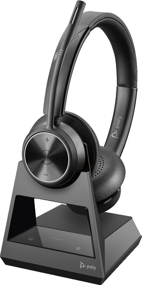 Plantronics(プラントロニクス) Savi 7320 OFFICE Stereo(両耳)  ワイヤレスヘッドセットシステム