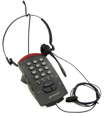 プラントロニクスヘッドセット(ヘッドセット型電話機 T20)