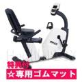 ダイヤコ(Dyaco) リカンベントバイク SR145S-40 (エアロバイク)【マット付き/代引不可】