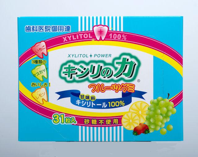 キシリの力 フルーツグミ(1箱)93g