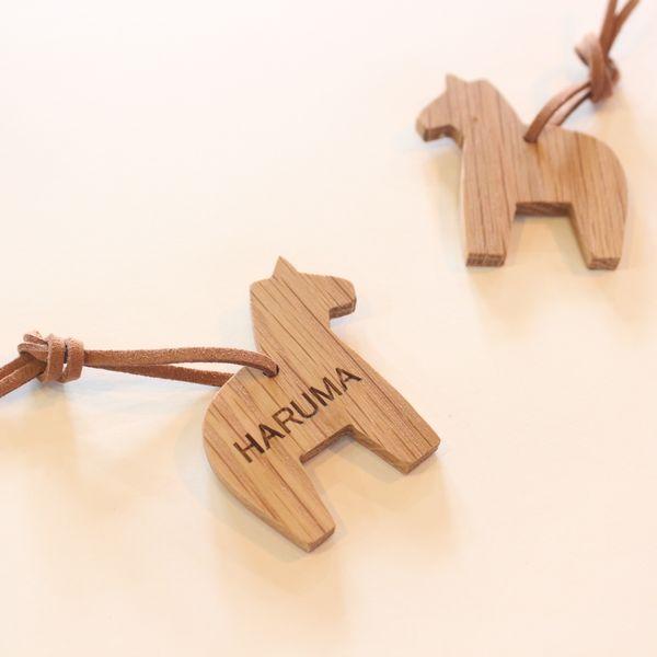 【オーダー制作】 木製キーホルダー