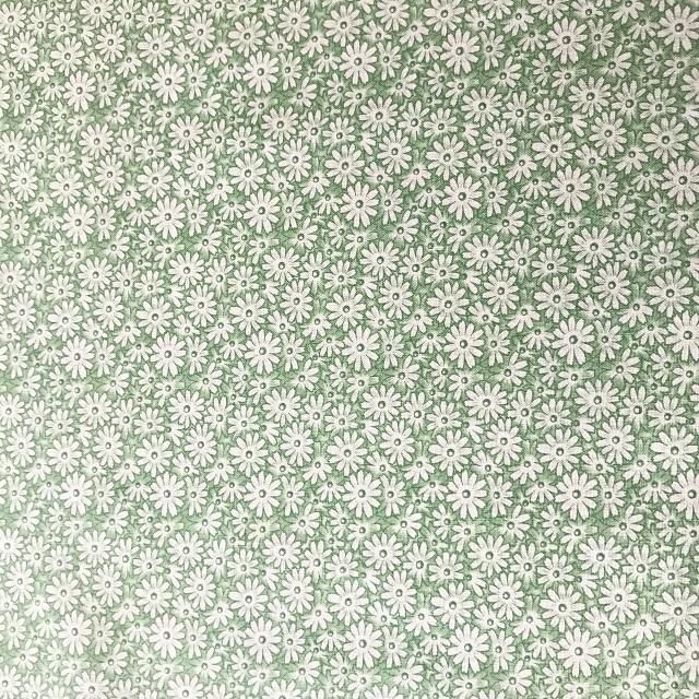【花柄】【【パッチワーク用布】【moda】【レターパックライト可】 花柄 グリーン
