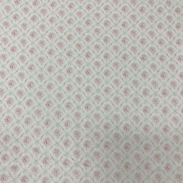 【花柄】【優しい色合い】【YUWA】【レターパックライト可】ハートフィールドカラーのカットクロス(829493)50x55cm
