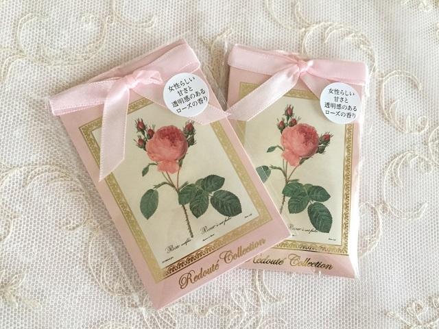 【ルドゥーテ】【薔薇柄】【サシェ】【メール便可】 ルドゥーテ サシェ スイートローズ