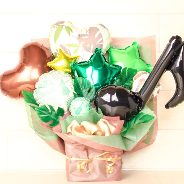 誕生日、結婚式、発表会プレゼント 「ボタニカル風、ハワイアンデザイン、フラダンスの発表会にも人気です」 bd0052