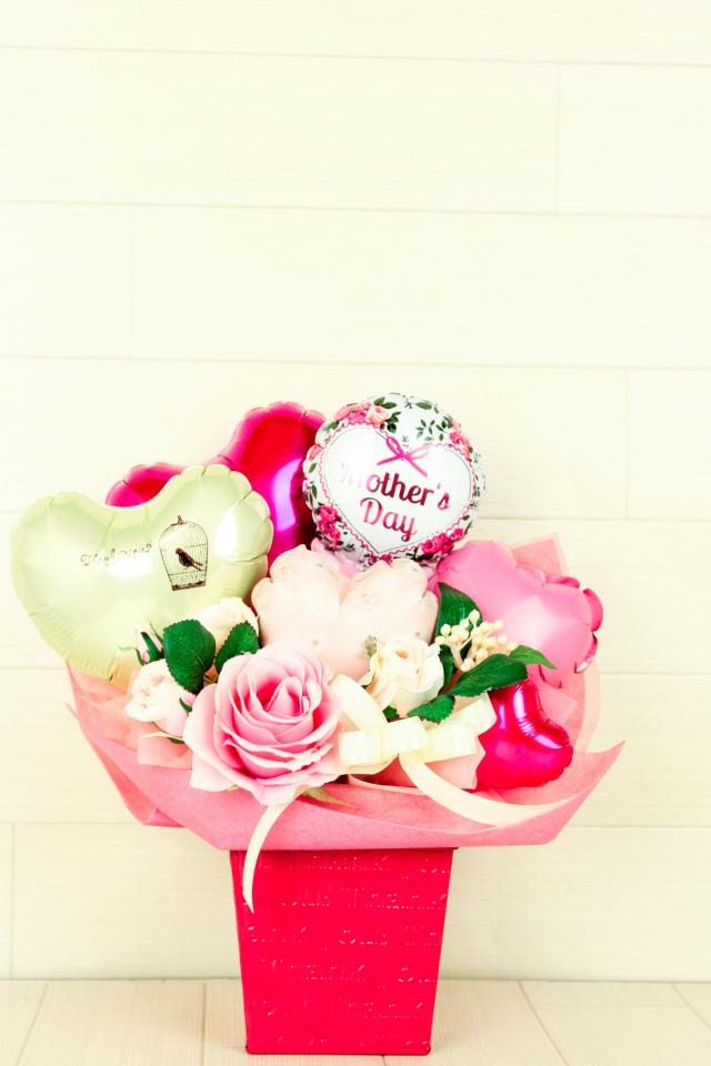 おしゃれなママへ ローズをテーマにしたフレンチカジュアル 母の日プレゼント「ローズガーデン」 hm0024