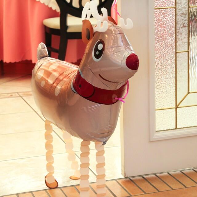 クリスマス ほんとにカワイイ お散歩トナカイ mc0022