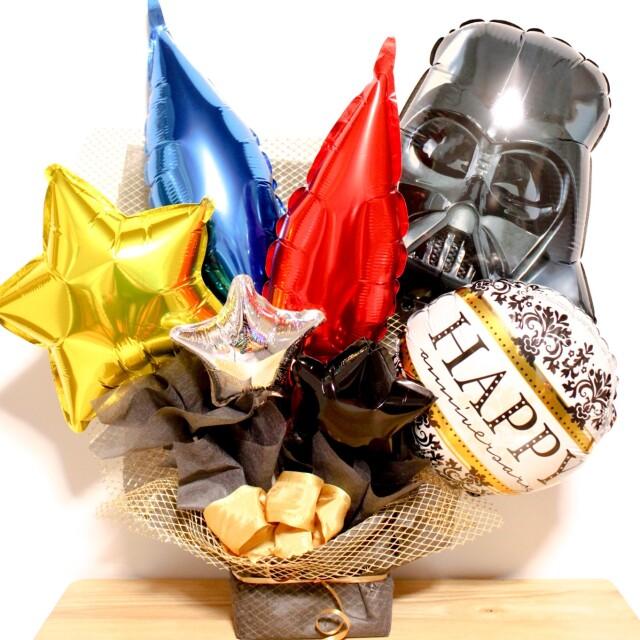 スターウォーズファン必見、ダースベーダ―アレンジ 結婚式、誕生日に人気です ot0031