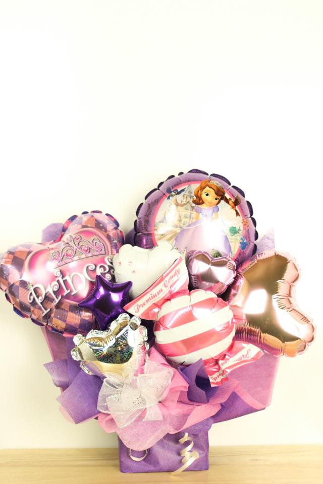 人気のソフィアバルーン電報 結婚式、誕生日、バレエ、ピアノ発表会に人気です pb0056