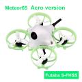 Futaba S-FHSS送信機とバインドして飛ばせる! BETAFPV Meteor65(アクロバージョン) 1セル仕様マイクロブラシレスフープ コンボセット(バッテリー2個&充電器付属) 【日本語ガイド付属】