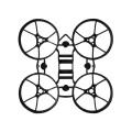 BETAFPV Meteor65 マイクロブラシレスフープ用 フレーム(ブラック)