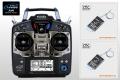 Futaba 10J ヘリ用 ダブルレシーバー送・受信機セット(モード1 右スロットル)(R3001SB受信機2個付属)