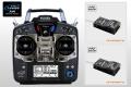 Futaba 10J ヘリ用 ダブルレシーバー送・受信機セット(モード1 右スロットル)(R3008SB受信機2個付属)