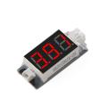 1セル専用 バッテリーチェッカー(変換コネクター付属)