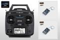 Futaba 6K(V2)ヘリ用送信機+ R2001SB受信機×2個 ダブルレシーバーセット  ※モード1 右スロットル