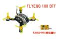 KINGKONG FLYEGG 100 V2(RX800-PRO受信機搭載済)BTF 【日本語設定ガイド付属】