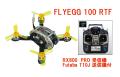 KINGKONG FLYEGG 100 V2 調整済みフルセット(Futaba T10Jモード1送信機 + RX800-PRO受信機)