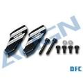 【販売終了品】600DFC メインローターホルダーアーム(黒) 【H60241】