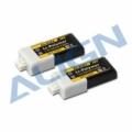 アライン純正 高容量リポバッテリー 2セル 7.4V 300mAh/30C(2個セット) 【HBP03001】