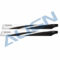500X用 470 カーボンファイバーブレード 黒 【HD470A】
