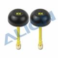 5.8GHz FPV用 無指向性 受信機 RXアンテナセット 【HEP00015】