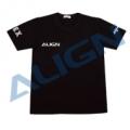 アラインTシャツ MR25仕様/黒 Mサイズ  【HOC00216-3】