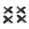 Beta 65 PRO2に最適! HQProp製 1.2X1.3X4 Black (2CW+2CCW)-ABS-1.0mmシャフト用