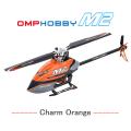 超安定6軸ジャイロ&パニックリカバリ機能搭載! OMPHOBBY M2ヘリコプター調整済み完成機体(オレンジ)【バッテリー1個・各種スペアパーツ・日本語説明書付属】