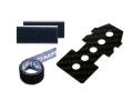 M2共通 カーボンバッテリープレートセット(マジックテープ貼付済) 【OSHM2028-SET】
