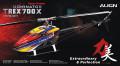 T-REX 700X スーパーコンボ(マイクロビーストジャイロ日本語説明書付属) 【RH70E23XW】