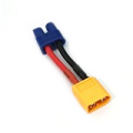 変換コネクター(XT60オス→EC3メス) 【XT60-EC3】