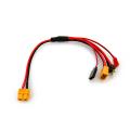 X2バーティカル充電器用として便利! XT60出力 充電器用マルチケーブル