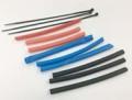 熱収縮チューブセット Φ5mmx90mm(赤x3/黒x3/青x3) 【AESB1670】