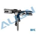 450DFC メインローターヘッドアップグレードセット 黒 【H45162】