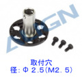 470L ドライブギアマウント(シャフト穴径Φ2.5 ベルトドライブ用) 【H47G006XXW】