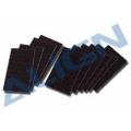 固定テープ 450用(マジックテープ 黒) 【HS1240】