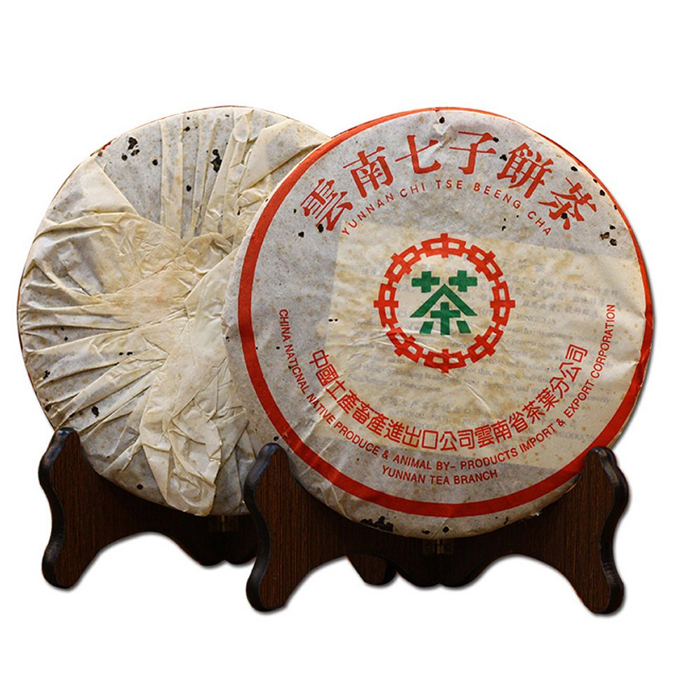 【生茶】雲南七子餅茶7542(2000年)