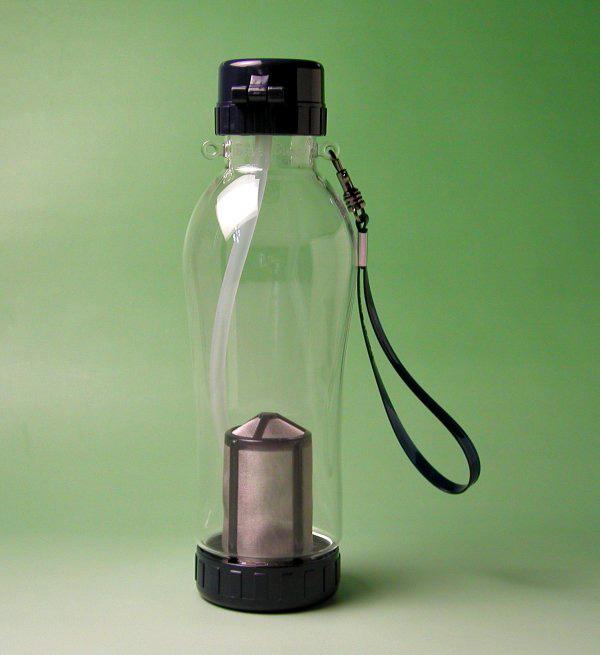 【中国茶具】中国茶用携帯エコ水筒(チャトル)580cc(台湾飄逸杯)