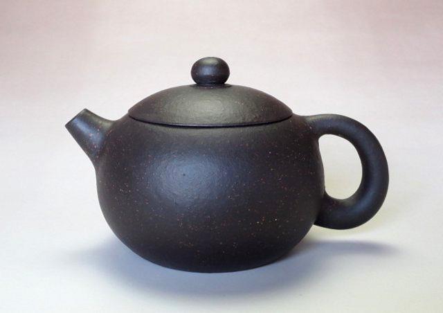 【宜興紫砂壺】プーアル茶器西施壺【王 亜琴】