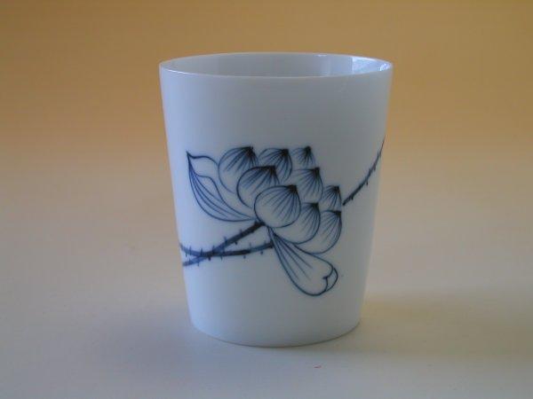 【中国茶具】景徳鎮直立逸品響杯(蓮花)