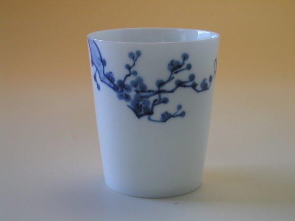 【中国茶具】景徳鎮直立逸品杯(梅)