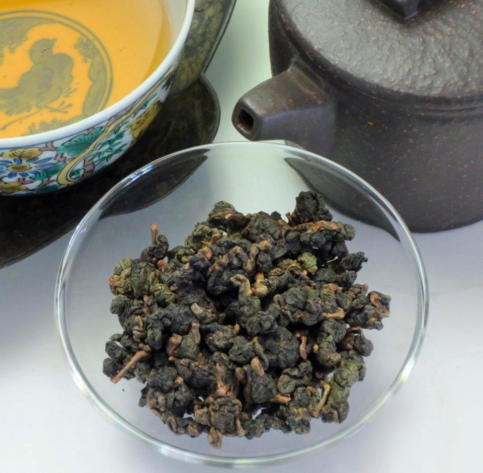 【陳年烏龍茶】杉林渓龍鳳峡5年熟茶10g